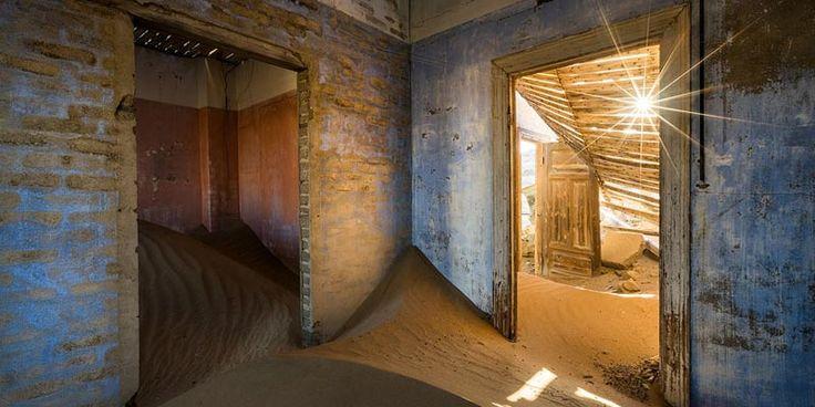 30 Locuri incredibile dar abandonate din lume: Kolmanskop, Desertul Namib