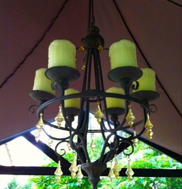 Outdoor Gazebo Lighting Chandelier