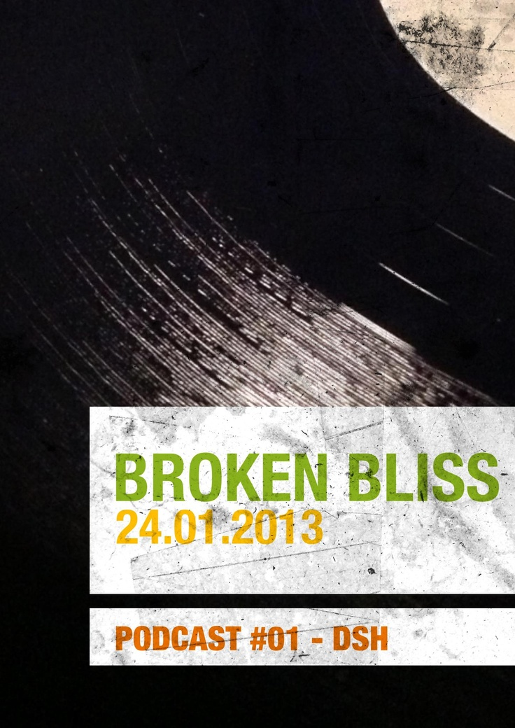 Broken Bliss Podcast every Thursday night on Mixcloud - http://www.mixcloud.com/BrokenBliss/