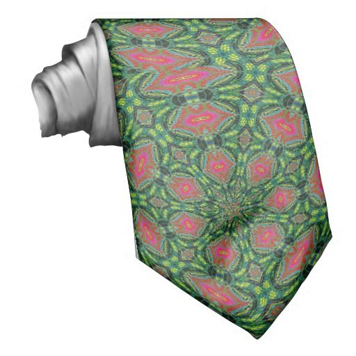 Modern colorful pattern neck wear