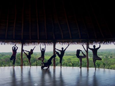 Costa Rica Yoga Spa, Nosara...One day I will go to a yoga hatha....it's 1st on my bucket list