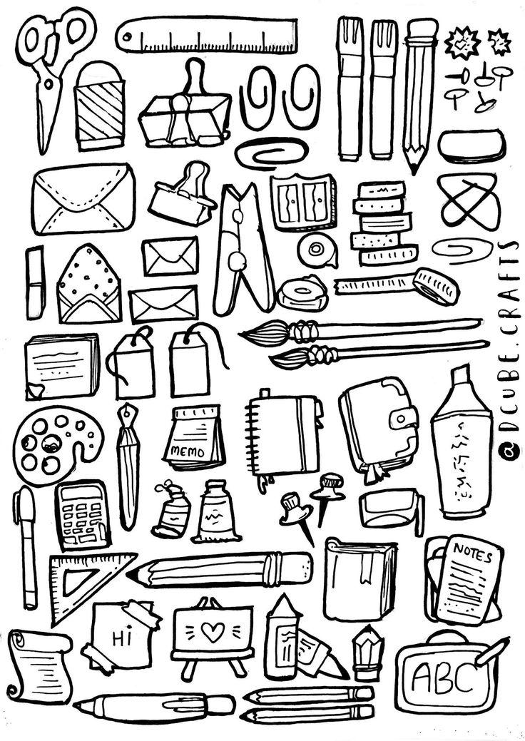Office Doodles Bullet Journal Inspiration Doodle Art
