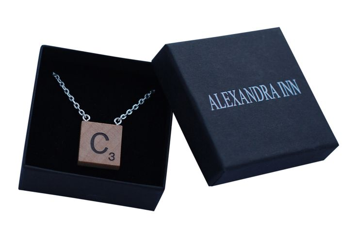 A personal favorite from my Etsy shop https://www.etsy.com/se-en/listing/217349788/scrabble-necklace-personlized-necklace