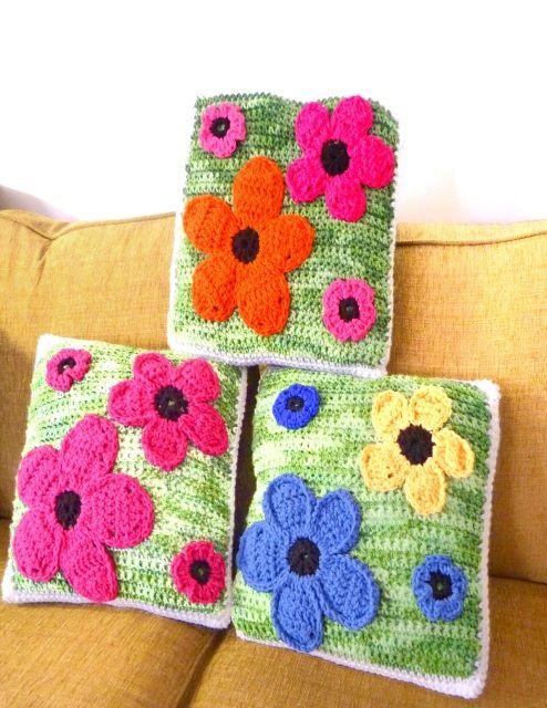 338 best Crochet cushions images on Pinterest | Crochet cushions ...
