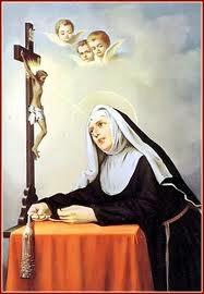 Santa Rita de Casia, murió un 22 de mayo.