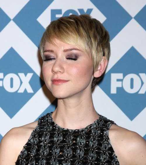 10 Nuevos peinados Pixie para caras redondas //  #caras #Nuevos #para #Peinados #Pixie #redondas