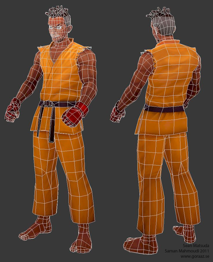Tutorial: Character with Haind-painted textures - Polycount Forum