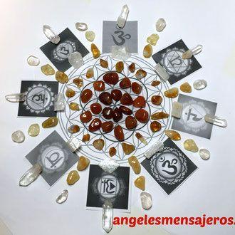 Poderes de los cuarzos - Cristales de cuarzo - Propiedades de los cuarzos - Terapia con cuarzos - El poder del cuarzo- Angeles y cuarzos - Pendulos