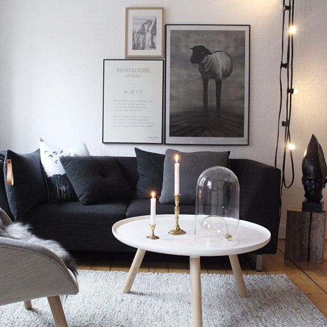 371 best LIVING ROOM images on Pinterest Amelie, Salons and Living - deco salon gris et blanc