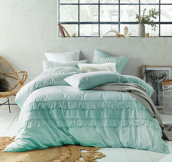 Boho Quilt Cover Set Range Duckegg Bed Cotton Quilt Covers Bedroom Ideas For Small Rooms Women Quilt Cover Sets