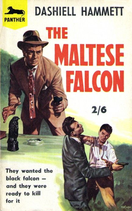 An analysis of the maltese falcon a novel by dashiell hammett