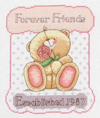 25th Anniversary (Forever Friends) - Cross Stitch Kit