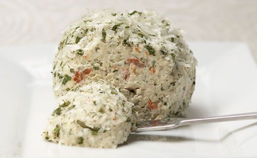 Epicure's Smoked Salmon Cheese Ball