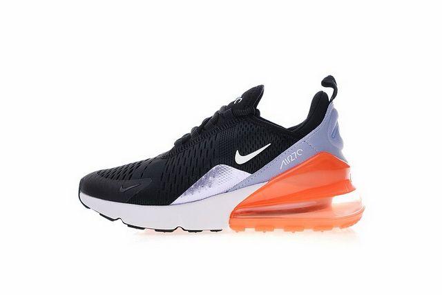 e6553e4273b5e9 Genuine Nike AIR MAX 270 black orange 943346 004 Online Sale