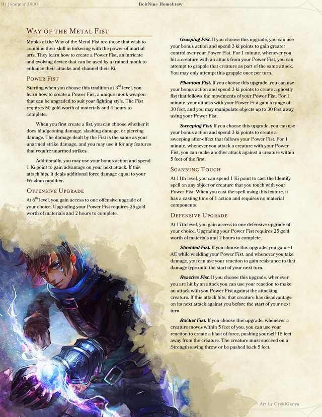 Pin by Jason Reimer on dnd homebrew in 2019 | Dnd 5, Dnd 5e homebrew