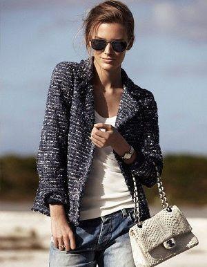 ツイードならカジュアル服とも合わせられる◎ トレンド感のあるスーツジャケットの人気コーデ一覧。デイリーファッションの参考に。