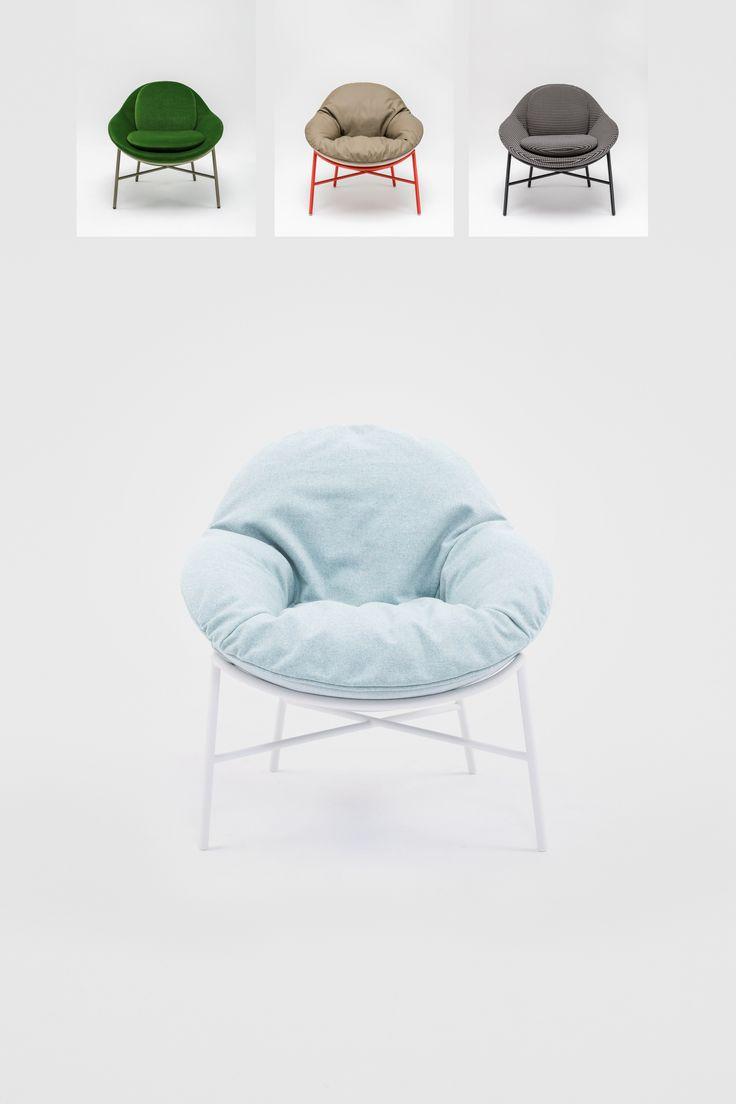 Fotel Oyster marki Comforty czerpiący inspirację z organicznego wzornictwa lat 50., to doskonałe połączenie dopracowanego, wysublimowanego kształtu i ergonomii.  Znajdź więcej na: www. euforma.pl                             #fotel #comforty #oyster #polishdesign