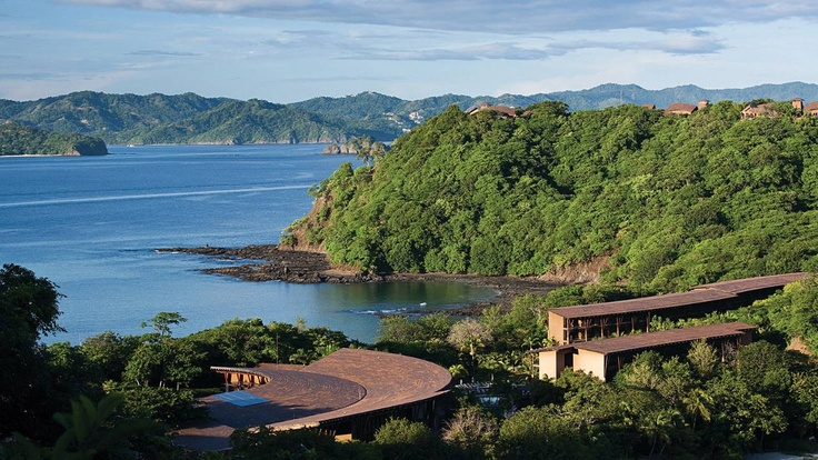 Four Seasons Hotel Costa Rica at Peninsula Papagayo. San Francisco to Houston to Costa Rica is the most popular flight path.