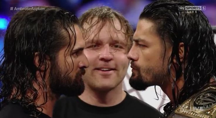 Seth Rollins, Dean Ambrose, Roman Reigns  6/13/16 The best episode of Ambrose Asylum ever!