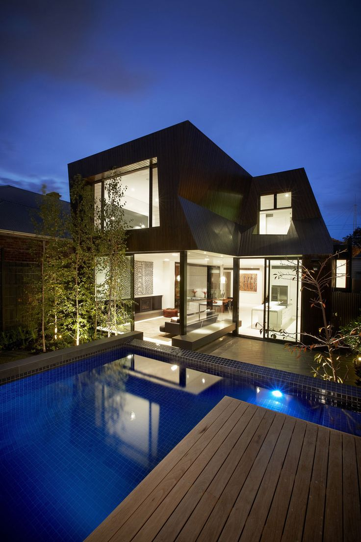 Cool backyard with pool design interior design architecture and - Enclave House In Melbourne Australia By Bkk Architects Architecture Interior Designamazing