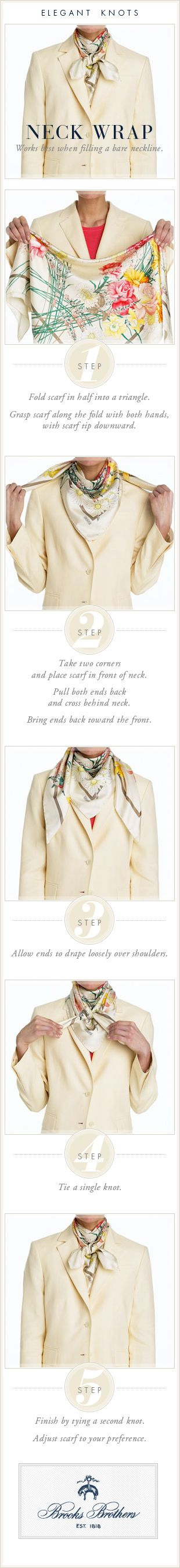 The Neck Wrap | Brooks Brothers