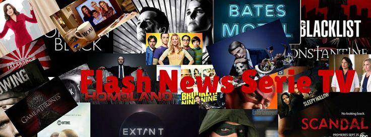 Flash news serie tv, uno spazio dedicato alle notizie sulle serie tv dimenticate nel corso della settimana