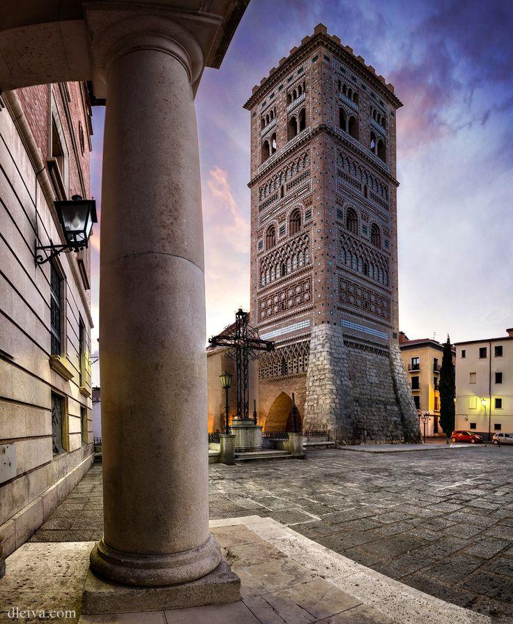 "Tower of San Martín in Teruel City, Aragon, Spain - <a href=""http://dleiva.com/"">dleiva.com</a>"