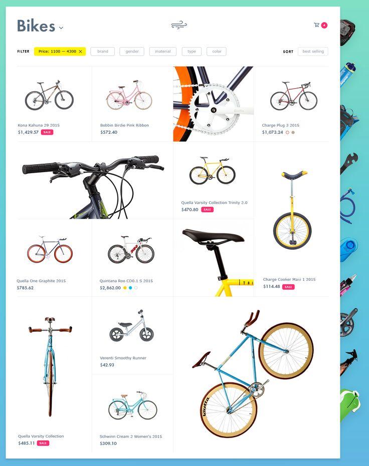 Bike shop by Dmitry Zelinsky