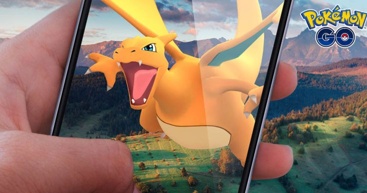 Charizard will look life-size with the 'Pokémon Go' AR+ update