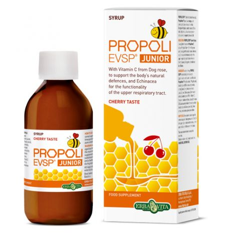e-orthoshop.com | ERBA | Propoli EVSP Junior Syrup Cherry Taste 100ml