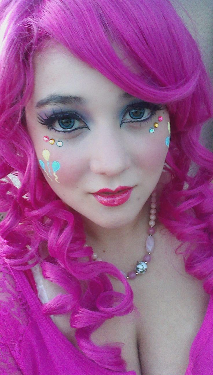 pinkie pie cosplay makeup - Google Search                                                                                                                                                                                 More