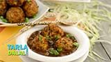 Vegetarian manchurian, a flagship indo-chinese recipe! vegetable manchurian is a culmination of indian ingredients and chinese cooking style and is a wonderful fusion of flavors. These little balls of shredded vegetables soaked in a thick sauce bursting with flavors of ginger, garlic, chili and soya sauce tastes great with noodles or a bowl of fried rice. Vegetable manchurian comes from the kitchens of chinese settled in eastern india, and is a popular dish across the country today!
