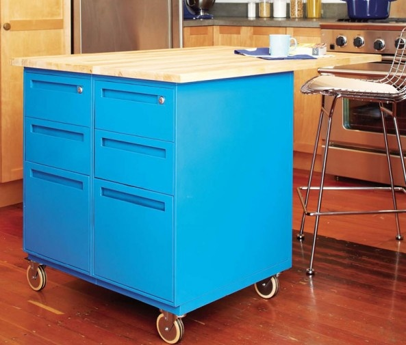 Dusty Coyote Turning A Kitchen Cart Into A Table Kitchen: 25 Best Images About File Cabinet Uses Upcycle On