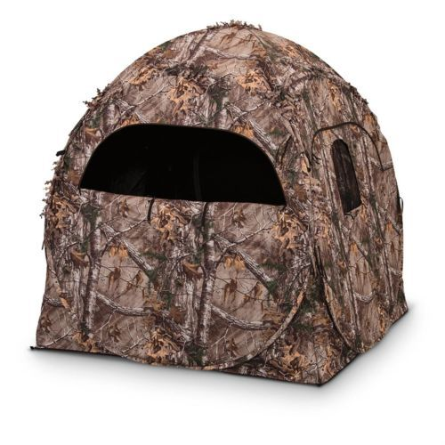 Blinds 177910: Ameristep Doghouse Blind, Realtree Xtra BUY IT NOW ONLY: $105.2