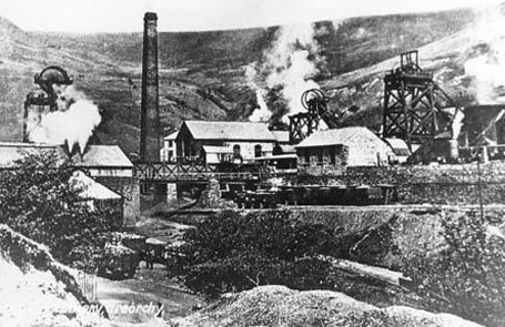 The village of Treorchy apparently takes its name from the stream that flows from the mountainside above the village into the River Rhondda. On the 1875 Ordnance Survey map, the stream is referred to as 'Nant Orky'. Gorchi possibly comes from the welsh word Gorchwy, suggesting a stream marking a boundary.