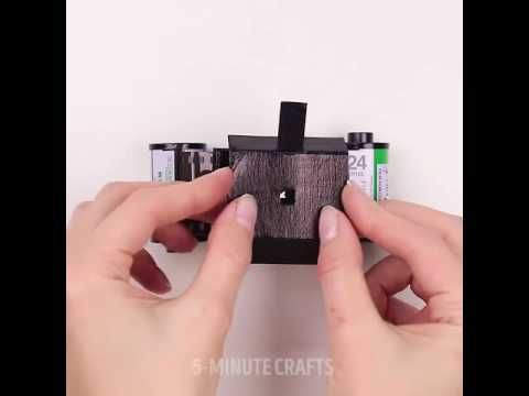 DIY matchbox camera