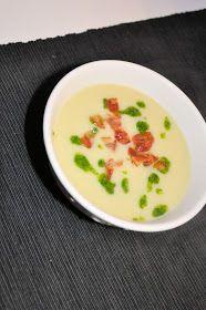 Det er altid godt med en gang suppe som er fyldt med vitaminer, porre/blomkåls suppe var nemlig aftensmaden idag og smagte ganske lækkert o...