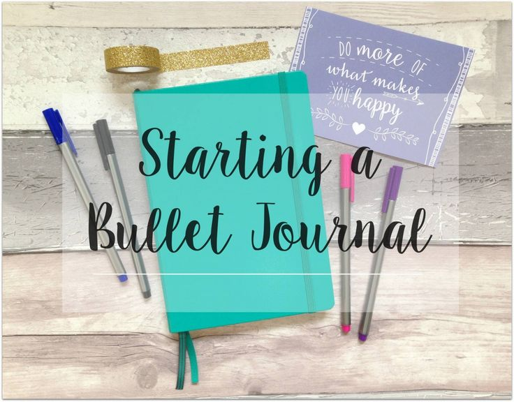 Starting a Bullet Journal  - I've been meaning to start one of these puppies and am now looking for layouts that work for me - this looks like a nifty starting point X