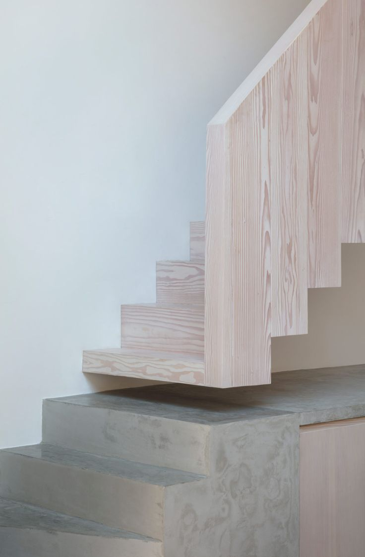 Architect designed timber stair: architectureforlo…