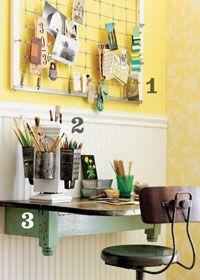 Nice small desk idea