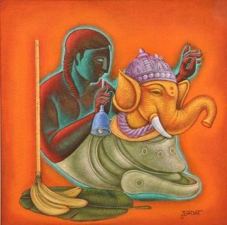 Sanchit Art   Satish Gujral Paintings   Art   Gallery