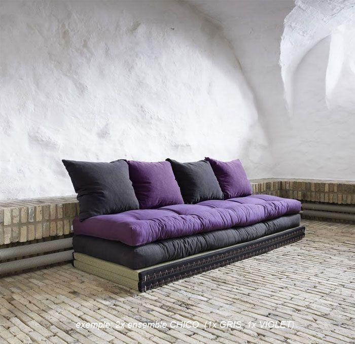 Les 25 meilleures id es de la cat gorie canap lit futon sur pinterest cana - Sofa canape difference ...
