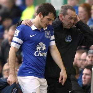 Baines broken toe blow for Blues #Football #Soccer #EFC #Everton #Baines #EPL #Toe