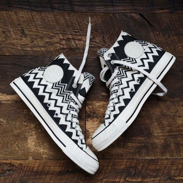 Converse Missioni Collection makes for the prettiest sneaker. EVER. // #Fashion