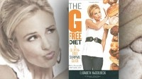 "The cover for the book, ""The G-Free Diet: A Gluten-Free Survival Guide,"" by Elisabeth Hasselbeck is shown."
