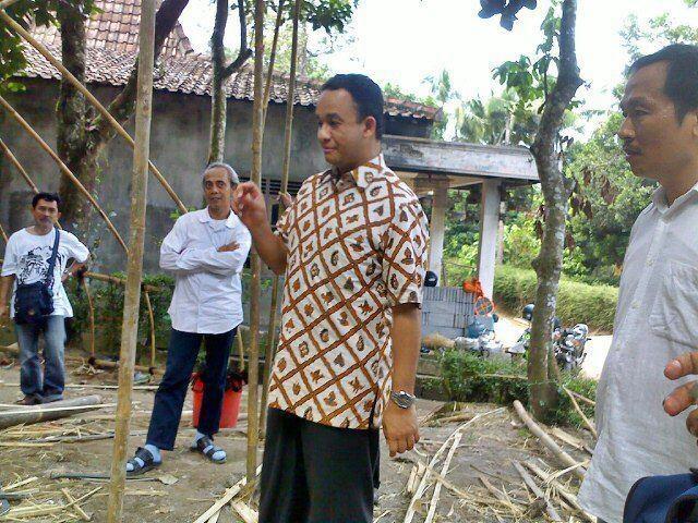 @aniesbaswedan balai ajar tegal arum, borobudur @papanuntuksemua project