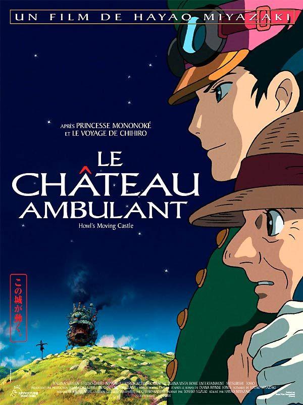 Le Château ambulant est un film de Hayao Miyazaki avec Chieko Baisho, Takuya Kimura. Synopsis : La jeune Sophie, âgée de 18 ans, travaille sans relâche dans la boutique de chapelier que tenait son père avant de mourir. Lors de l'une de ses rares