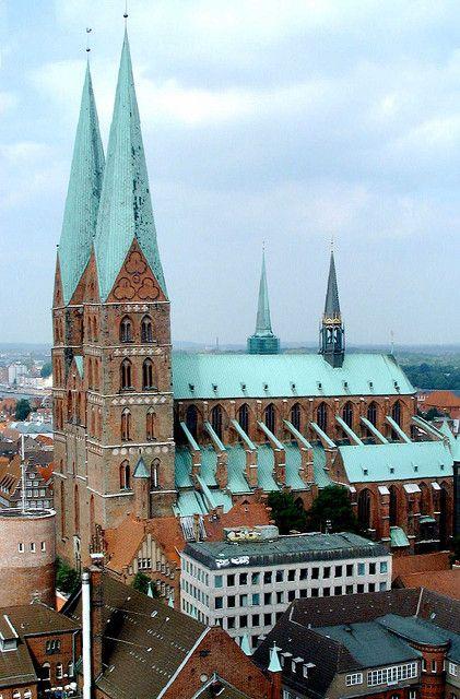 Lübeck - Marienkirche, Germany