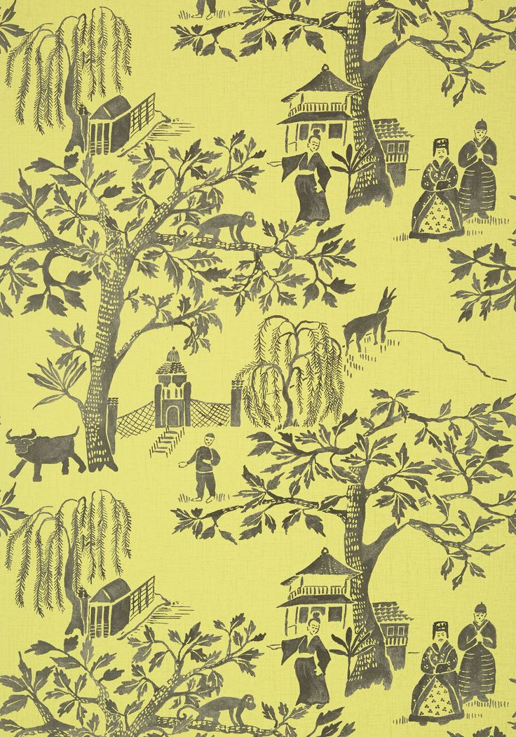 WILLOW WOOD, Citron, AT7914, Collection Watermark from Anna French
