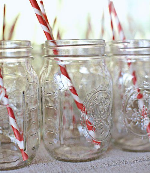 mason jar drinks for wedding - Mason Jar Drinking Glasses